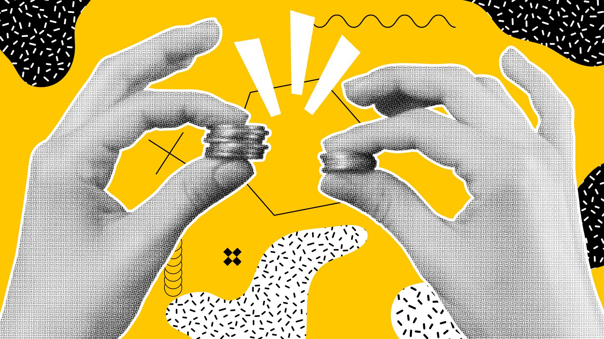 Aumentare la collaborazione: la lotta per l'attenzione collettiva.